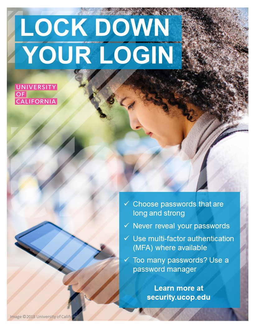 Poster thumbnail: Lock Down Your Login #2. Click for PDF.